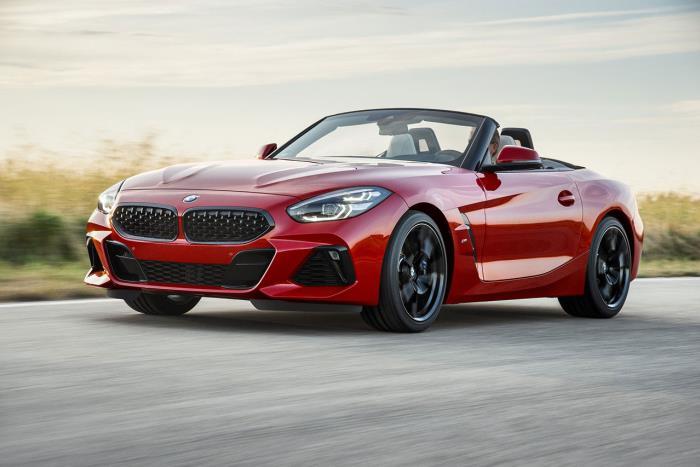 BMW Z4 2020 รถใหม่สุดสวย