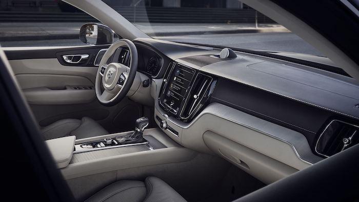 ภายในห้องสาร Volvo XC60 2020