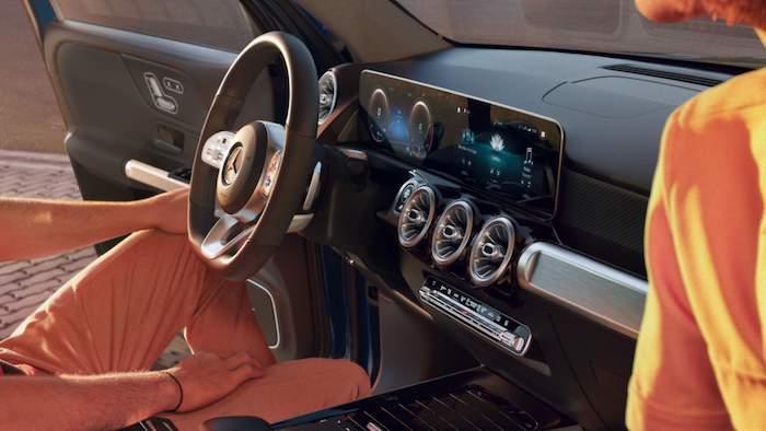ภายใน Mercedes Benz GLB 2020