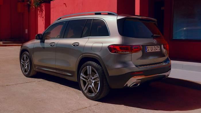 ภายนอก Mercedes Benz GLB 2020