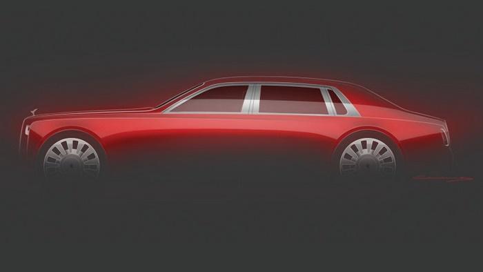 ภาพร่างของ Rolls-Royce Phantom 2020 รุ่นพิเศษ