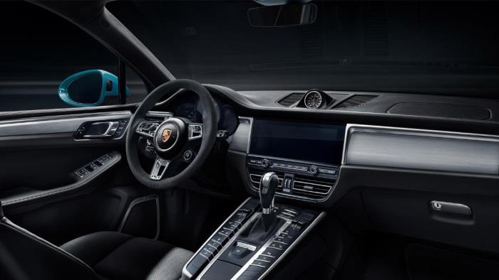 Porsche Macan การออกแบบภายใน