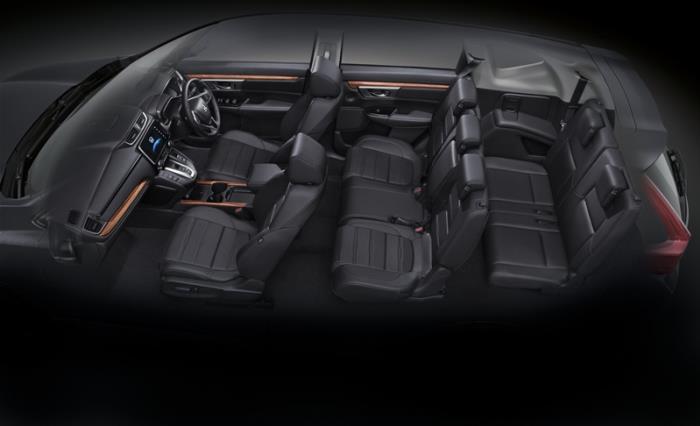 Honda CR-V การออกแบบภายใน