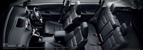 ภายใน Honda CR-V 2013