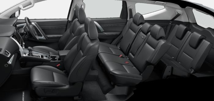 ภายใน Mitsubishi Pajero Sport