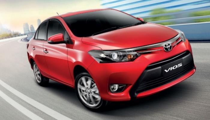 ภายนอกของ Toyota VIOS 2014