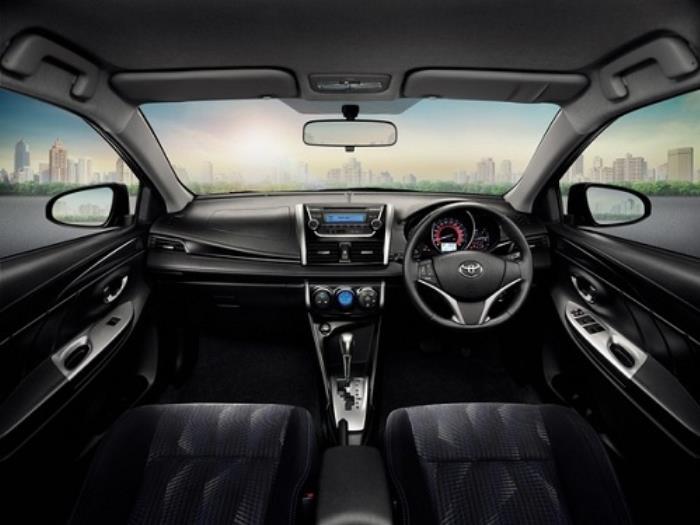 ภายในของ Toyota VIOS 2014
