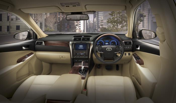 ภายใน Toyota Camry 2010