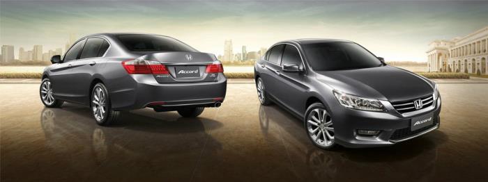 ดีไซน์ของ Honda Accord 2013