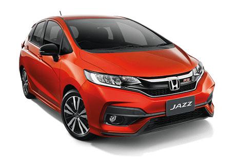 ภายนอกของ Honda JAZZ 2017