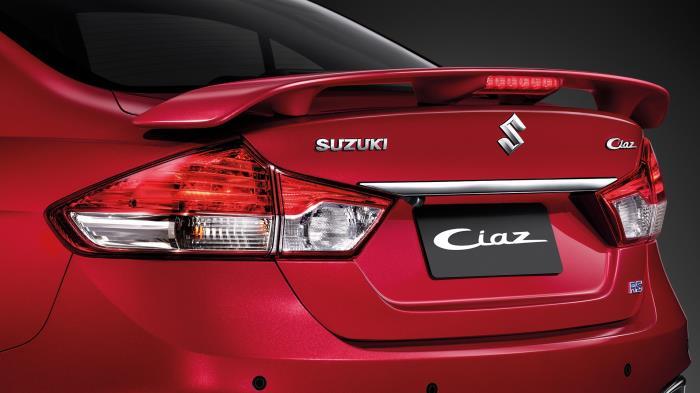 ดีไซน์ด้านหลังของ Suzuki Ciaz