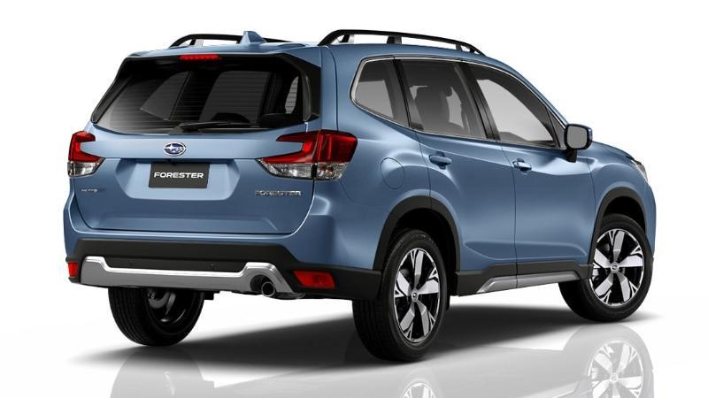 ดีไซน์ตัวรถ Subaru Forester