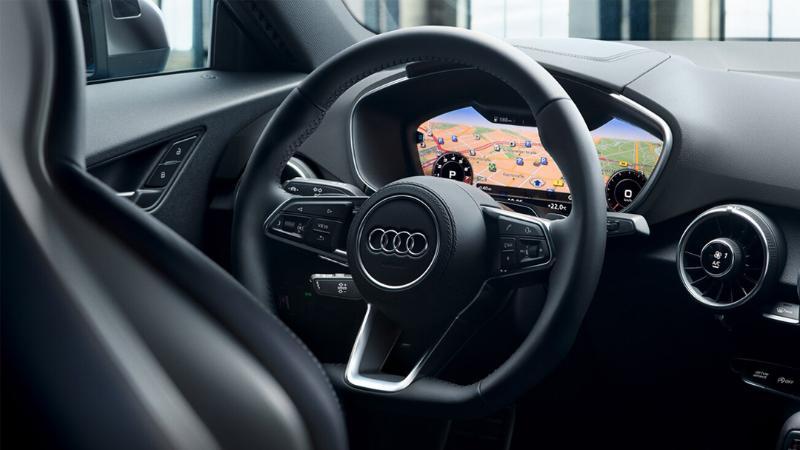 ภายใน Audi TTS