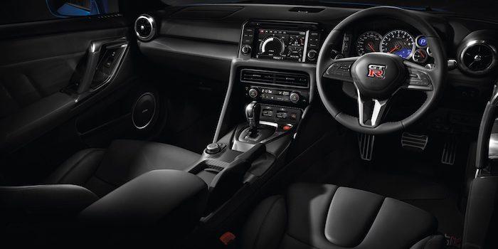 รีวิว ภายใน Nissan GTR