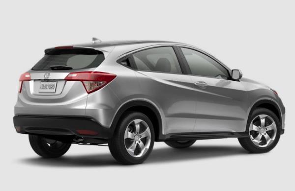 ด้านหลัง Honda HR-V 2017