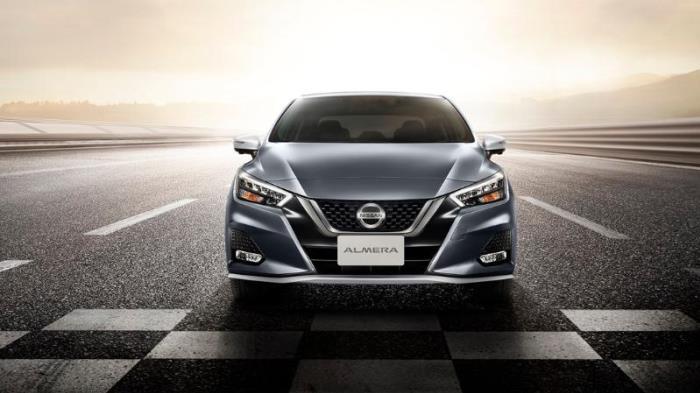 ภายนอกของ All-New Nissan Almera