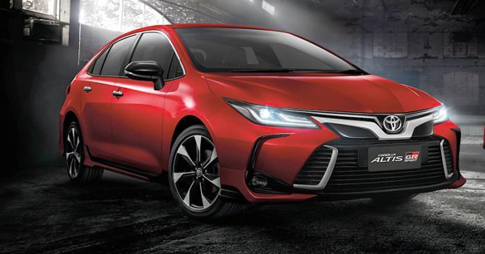 ดีไซน์ของ Toyota Altis 2021