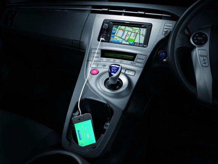 ภายใน Toyota Prius