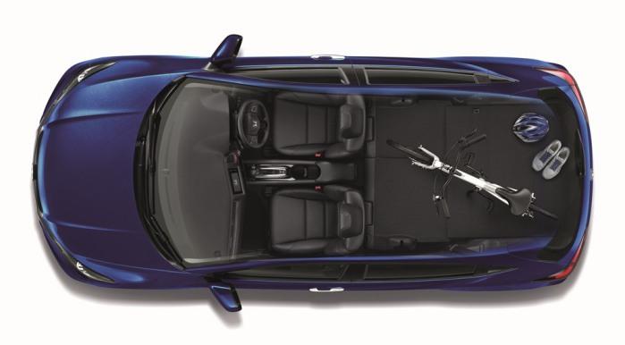 ภายใน Honda HR-V 2016 กว้างขวาง สะดวกสบาย