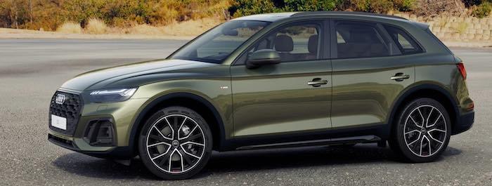 รีวิว ภายนอก Audi Q5