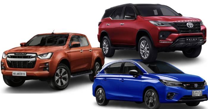 ยอดขายรถยนต์พฤษภาคม 2564