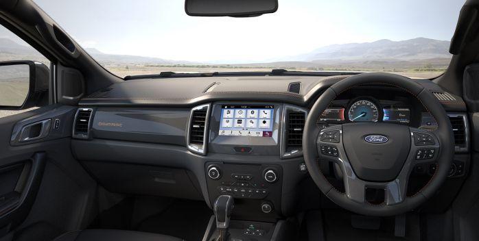 ภายใน Ford Ranger 2019