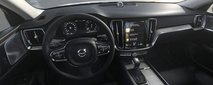ภายใน Volvo V60