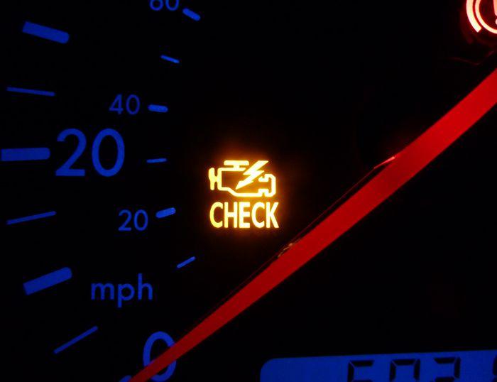 สัญลักษณ์นี้ขึ้นเตือนต้องรีบนำรถเข้าไปตรวจเช็ค
