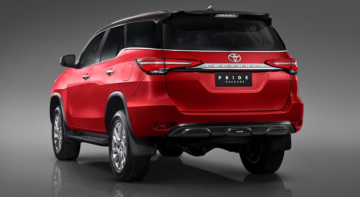 Toyota Fortuner 2021 Pride Package Il