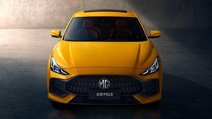 All-new MG5 2021 เข้าไมย