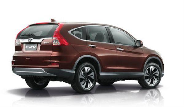 ภายนอก Honda CR-V 2015