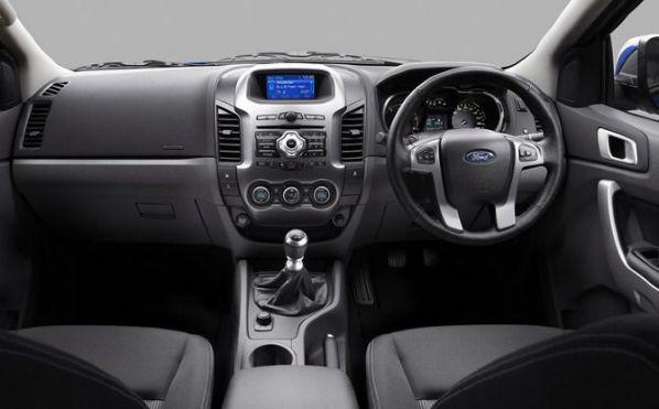 ภายใน Ford Ranger 2012