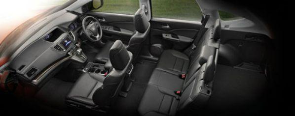ภายใน Honda CR-V 2015