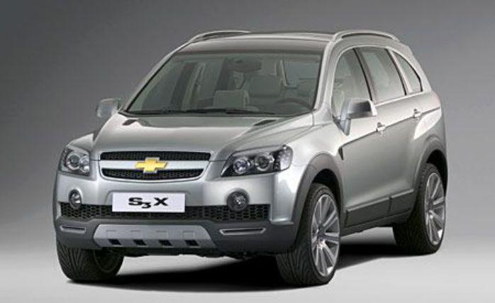 รถต้นแบบ Chevrolet S3X