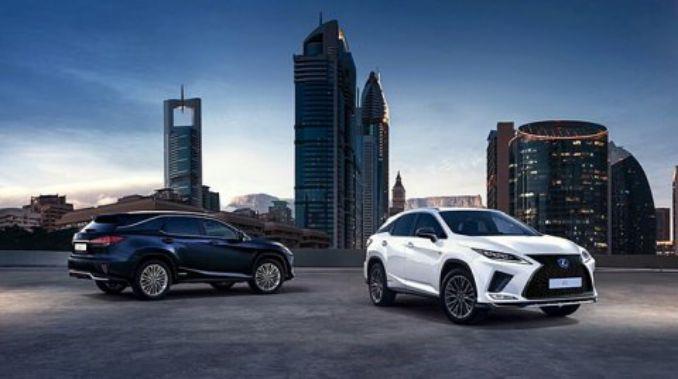 Lexus RX 2019 แต่งกันชนท้ายด้วยแถบอะลูมินัมใหม่