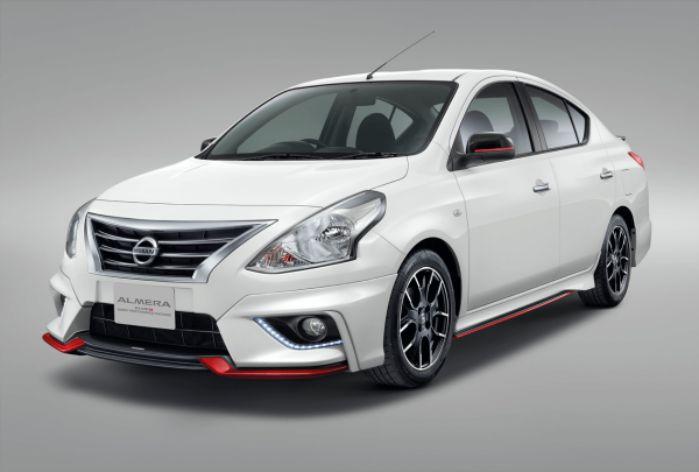 ภายนอก Nissan Almera 2019