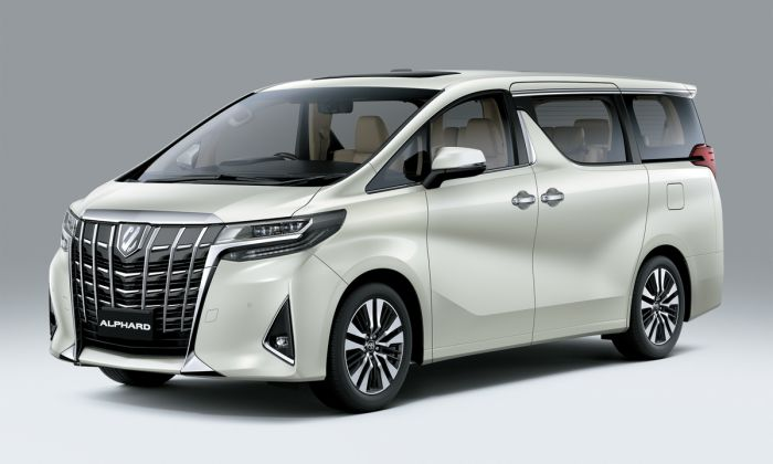 รถ mpv Toyota ALPHARD