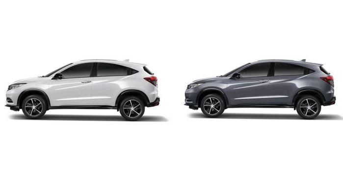 มุมมองด้านข้าง Honda HR-V 2020