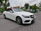 Mercedes-benz E200 AMG cabriolet blueeficiency w207 Sport Coupe ปี 2015 จด 18-0