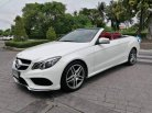 Mercedes-benz E200 AMG cabriolet blueeficiency w207 Sport Coupe ปี 2015 จด 18-6