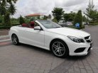 Mercedes-benz E200 AMG cabriolet blueeficiency w207 Sport Coupe ปี 2015 จด 18-7