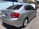 2012 ฟรีดาวน์ จัดเต็ม ตัวรองท็อป  Honda city 1.5 V auto-2