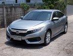 Honda Civic Fc 1.8 E ปี 2016 รถบ้านสวยเดิมมือเดียวขับดีเครื่องฟิตช่วงล่างแน่นไม่มีอุบัติเหตุอุปกรณ์ครบ