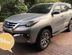 Toyota Fortuner 2.7V 2WD AT ปี 2016 สีเทา