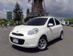 ((ราคาพิเศษ178,000))Nissan March 1.2 E MT 2011 สีขาว