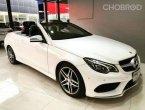 Mercedes Benz E200 AMG Dynamic Cabriolet Facelift ปี 2015
