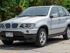 BMW X5 2002 (โฉม99-06) SUV 3.0 AT สีเทา