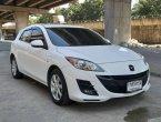 เข้าใหม่ Mazda 3 1.6 spirit sport สีขาว ปี 2013 รถสวย ไมล์น้อยแท้
