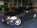 2011 Benz E250 Estate AMG Package ออฟชั่นเต็ม ช่วงล่างถุงลม ฝาท้ายไฟฟ้า Sunroof