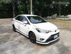 ปี2014 VIOS 1500CC TRD SPORITVO AUTO ABS SRS จอดีวีดีเบาะหนัง สีขาว